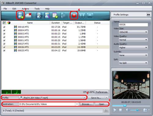 Xilisoft AVCHD Converter