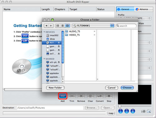 DVD to QuickTime converter