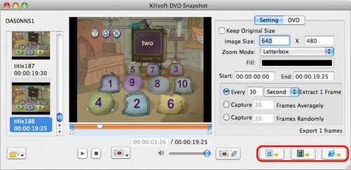 Xilisoft DVD Snapshot for Mac