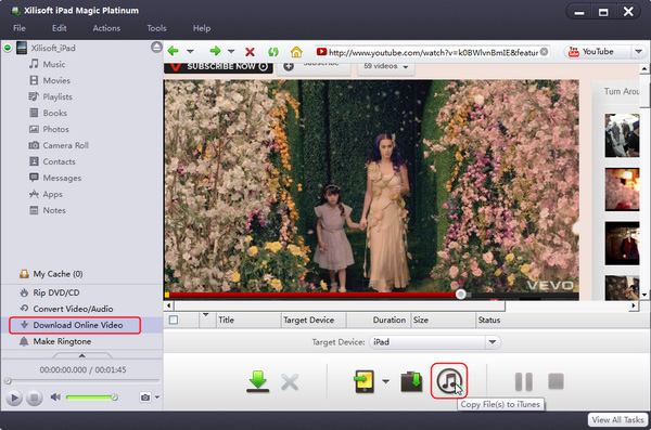 Download and convert online videos to iPad