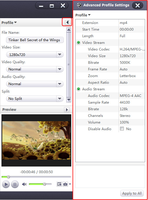 Convert WMV to MP4