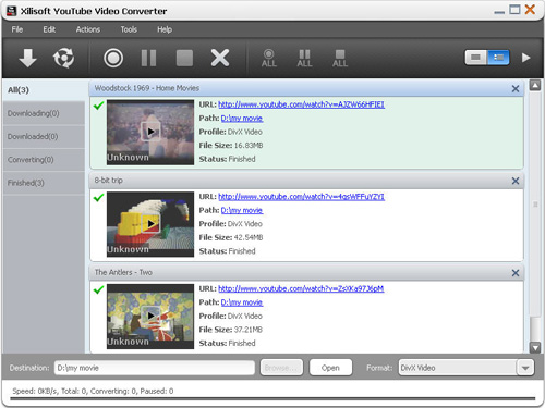 Download YouTube video, YouTube video converter, Convert YouTube video