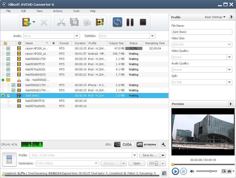 Xilisoft AVCHD Converter6