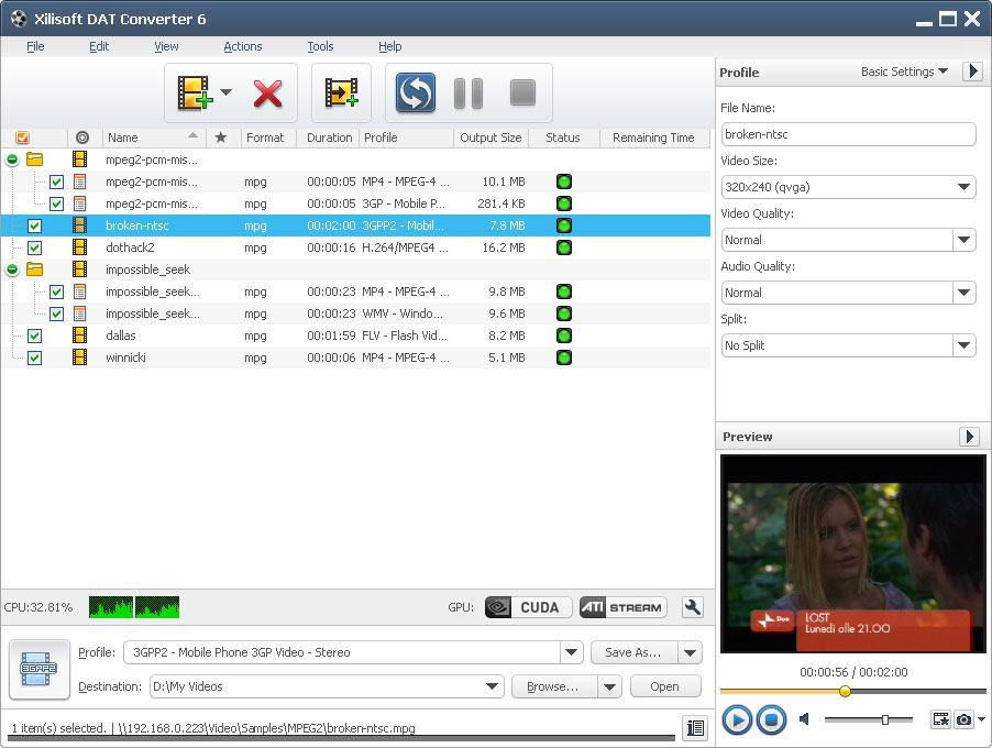Xilisoft DAT Converter