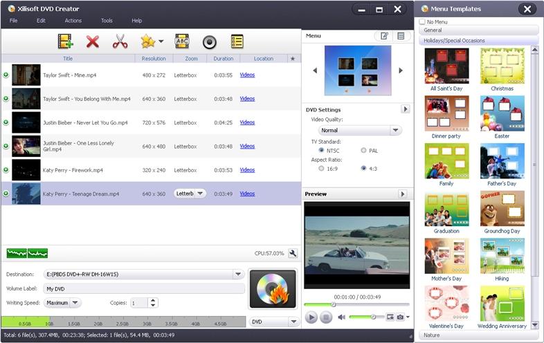 Xilisoft dvd creator 6.2.3.0622 rus