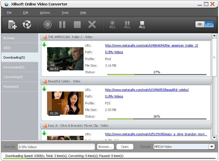 online video converter download