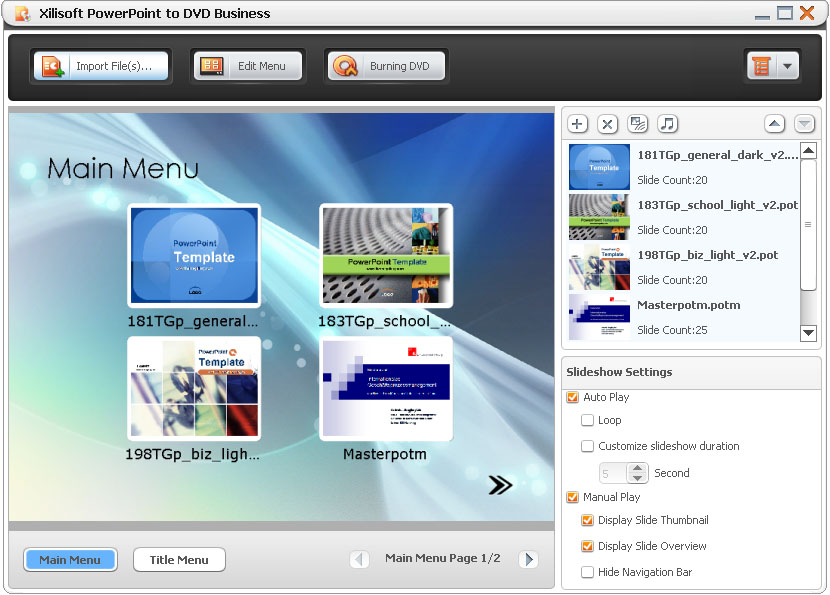 4efe397e9 Xilisoft PowerPoint to DVD Business