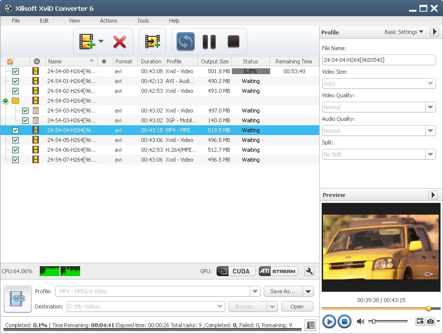 all video to avi divx xvid converter free download