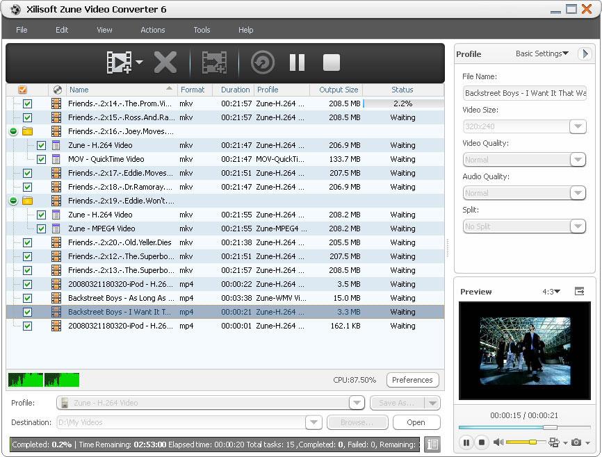 Xilisoft Zune Video Converter